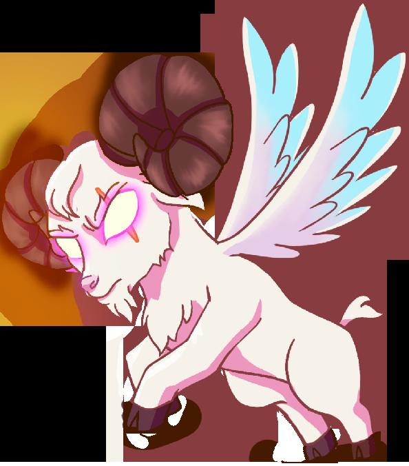 goat angel