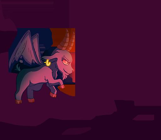 goat devil left